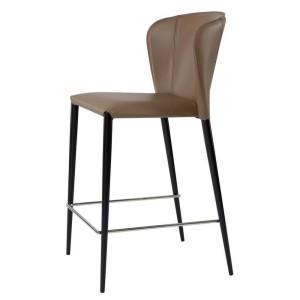 Полубарный стул Arthur (Артур) кожа