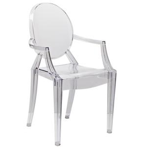 Кресло Каспер прозрачный