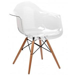 Кресло Прайз прозрачное - 113129