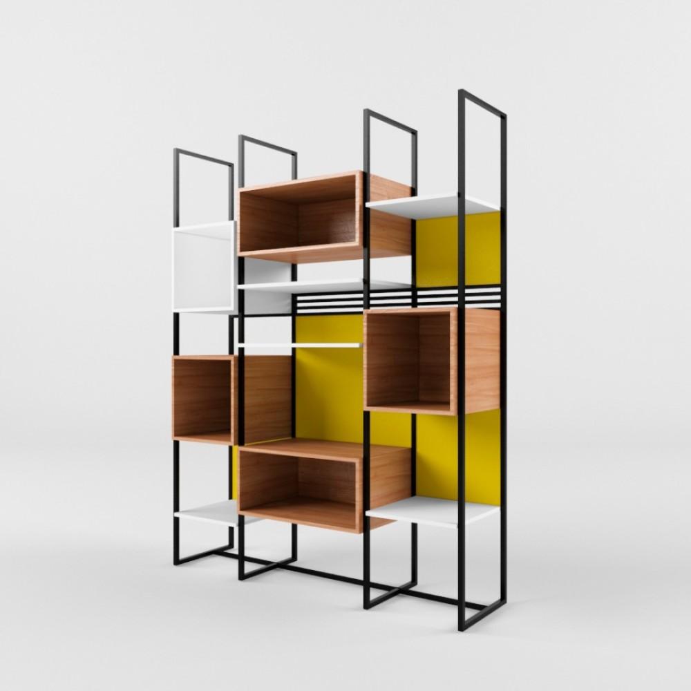 Книжный стеллаж BLOCK (Блок) - 401120 – 1