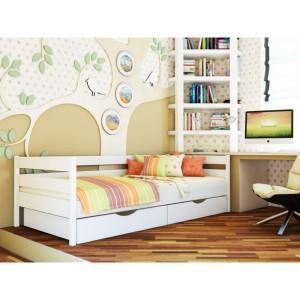 Кровать Нота белая