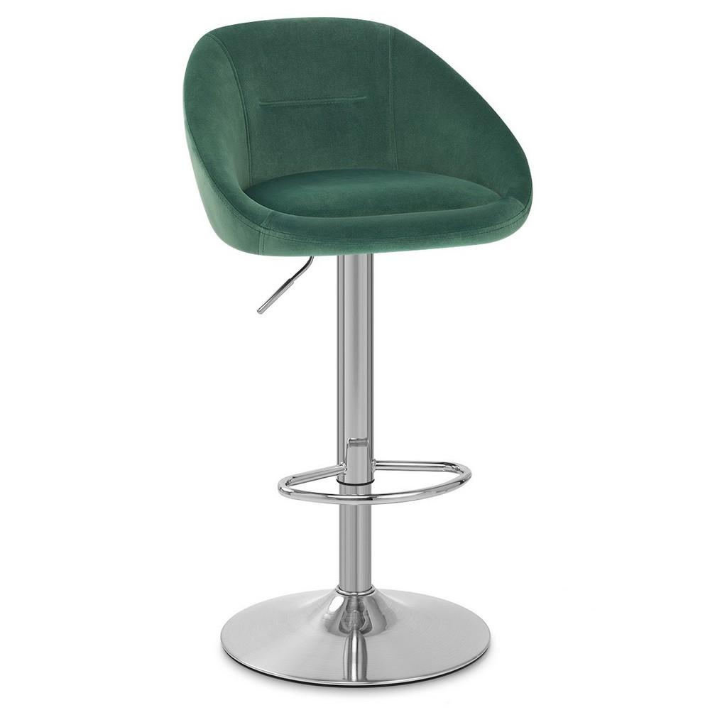 Барный стул HY 302 велюр выставочный образец 1 шт - 123999 – 1
