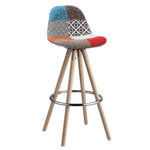 Барный стул Lacio patchwork (Лацио пэчворк)