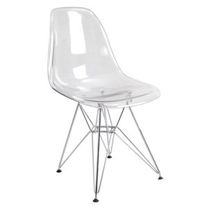 Стул Eames PC chrome (Эймс ПС хром)