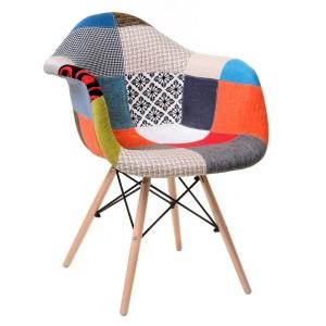 Кресло Eames patchwork 02 (Эймс пэчворк 02)