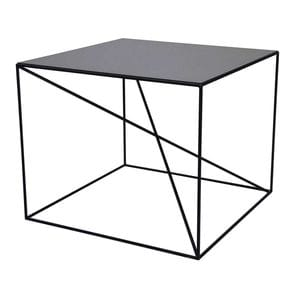 Столик журнальный Elegance Qube All In Steel
