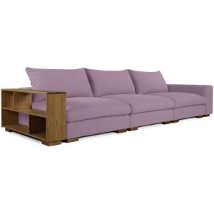 Прямой диван Монте-Карло с полками - 820162