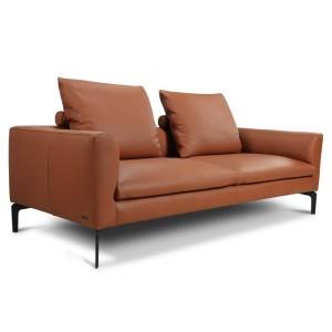 Прямой диван Окленд (кожа) - 820150