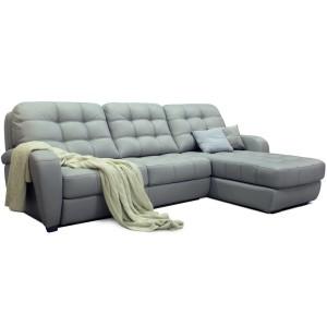 Угловой диван Бостон (кожа) - 820203